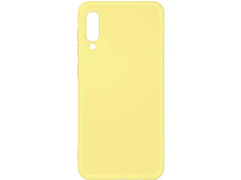 Чехол-накладка для Samsung Galaxy A30s/A50s/A50 DF sOriginal-03 Yellow клип-кейс, силикон, микрофибра аксессуар чехол df для samsung galaxy a10s soriginal 04 blue
