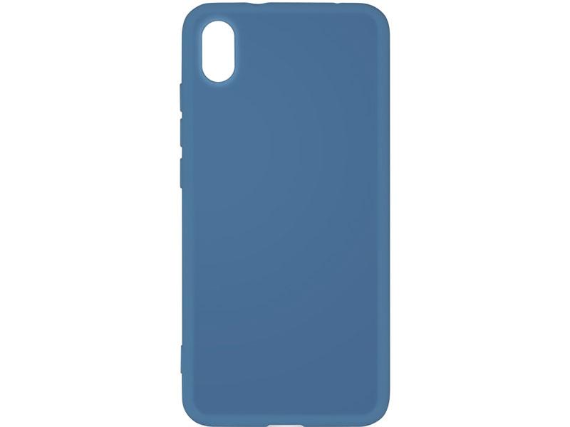 Чехол-накладка для Xiaomi Redmi 7A DF xiOriginal-01 Blue клип-кейс, силикон, микрофибра