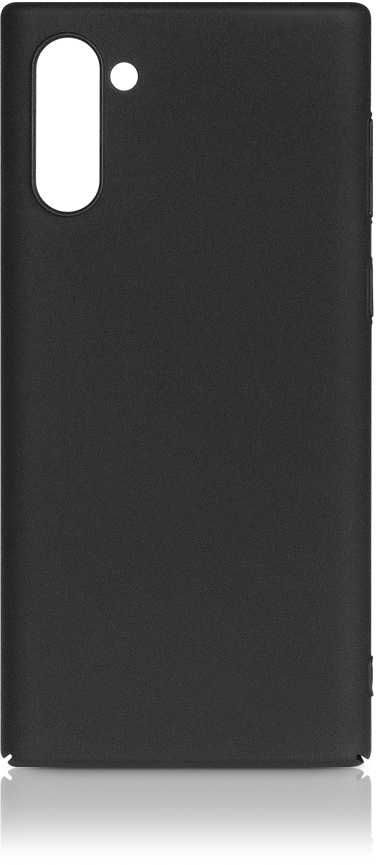 Чехол-накладка для Samsung Galaxy Note 10 DF sSlim-39 Black клип-кейс, поликарбонат цена в Москве и Питере