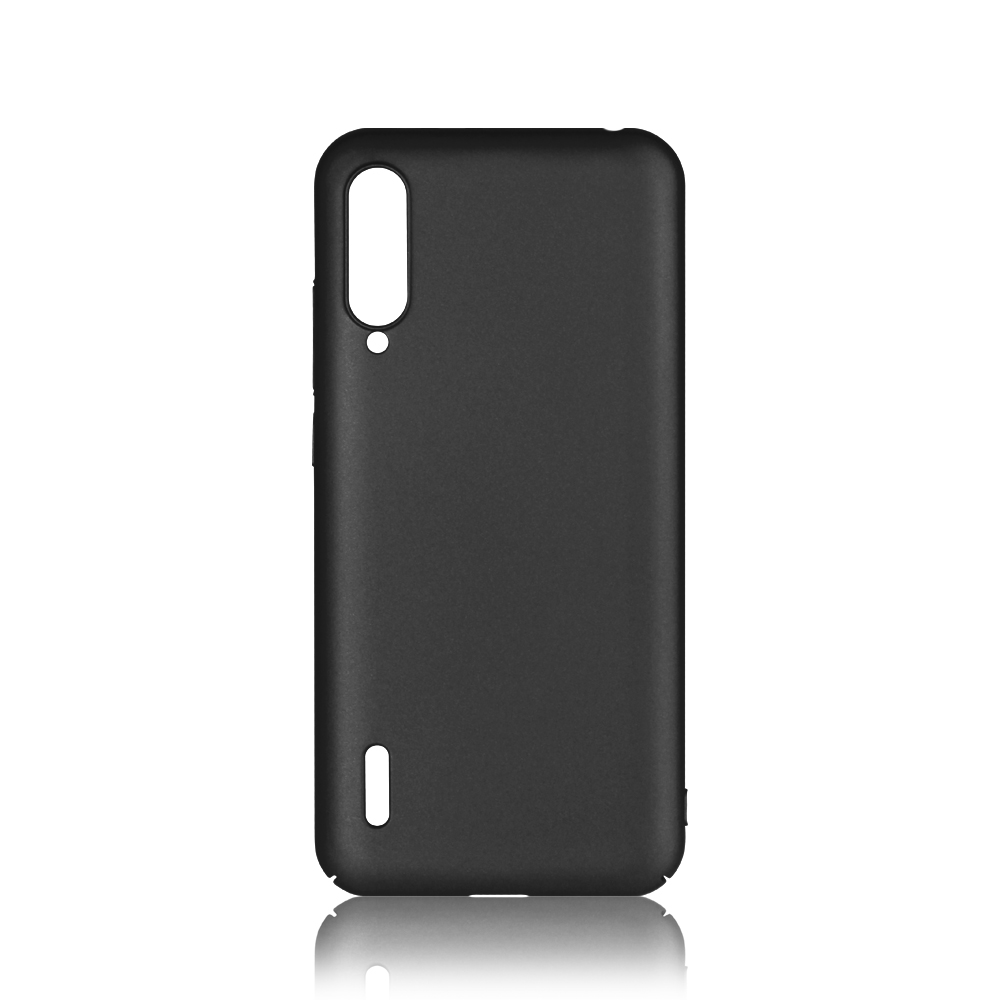 Чехол-накладка для Xiaomi Mi A3 Lite/ CC9/ Mi 9 Lite DF xiSlim-07 Black клип-кейс, пластик аксессуар чехол накладка xiaomi mi note 3 gurdini high tech silicone matt black