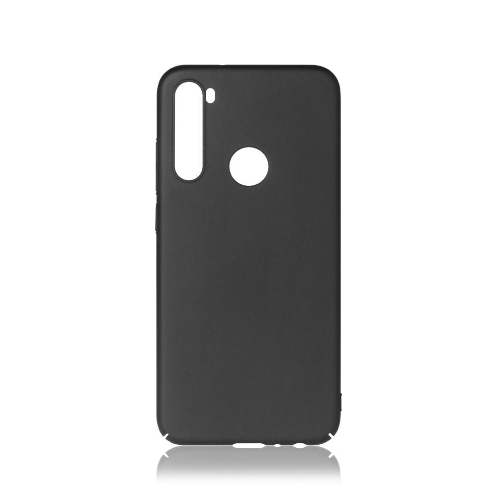 Чехол-накладка для Xiaomi Redmi Note 8 DF xiSlim-10 Black клип-кейс, пластик