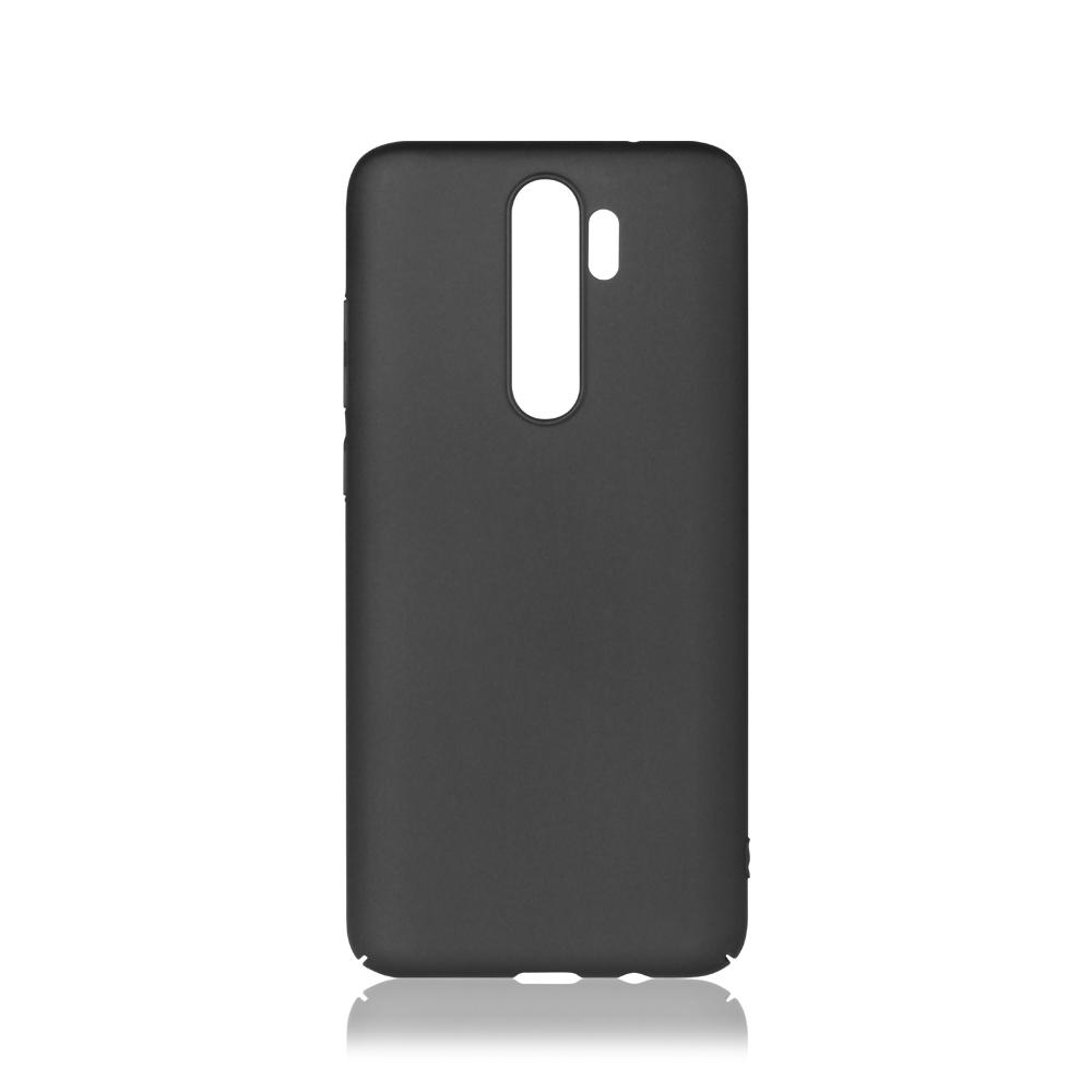 Чехол-накладка для Xiaomi Redmi Note 8 Pro DF xiSlim-09 Black клип-кейс, пластик