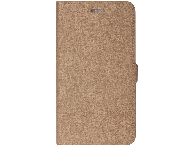 Чехол-книжка для Xiaomi Redmi Note 8 DF xiFlip-51 Gold книжка, искусственная кожа, пластик аксессуар чехол df для xiaomi mi mix 3 xiflip 37