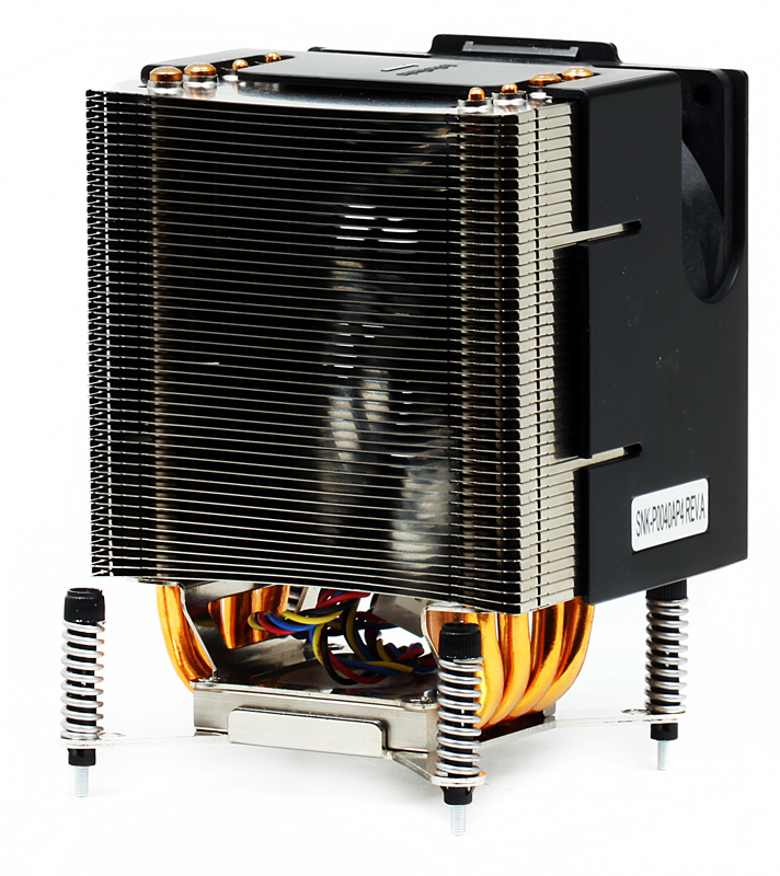 Кулер Supermicro SNK-P0040AP4 for 4U DP Workstation, LGA1366, 106 x 100 x 126, 2400RPM, 25dBA кулер для процессора supermicro snk p0050ap4 dp up lga2011 square narrow ilm