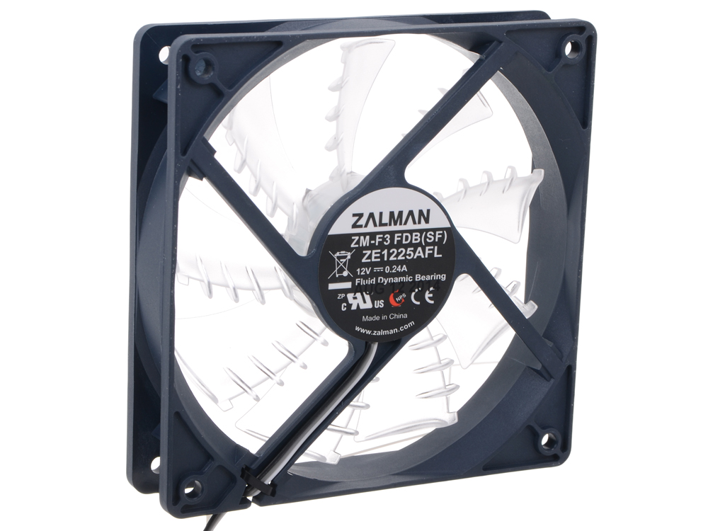 ZM-F3 FDB (SF) вентилятор zalman zm f3 led sf bl 120mm 1200rpm