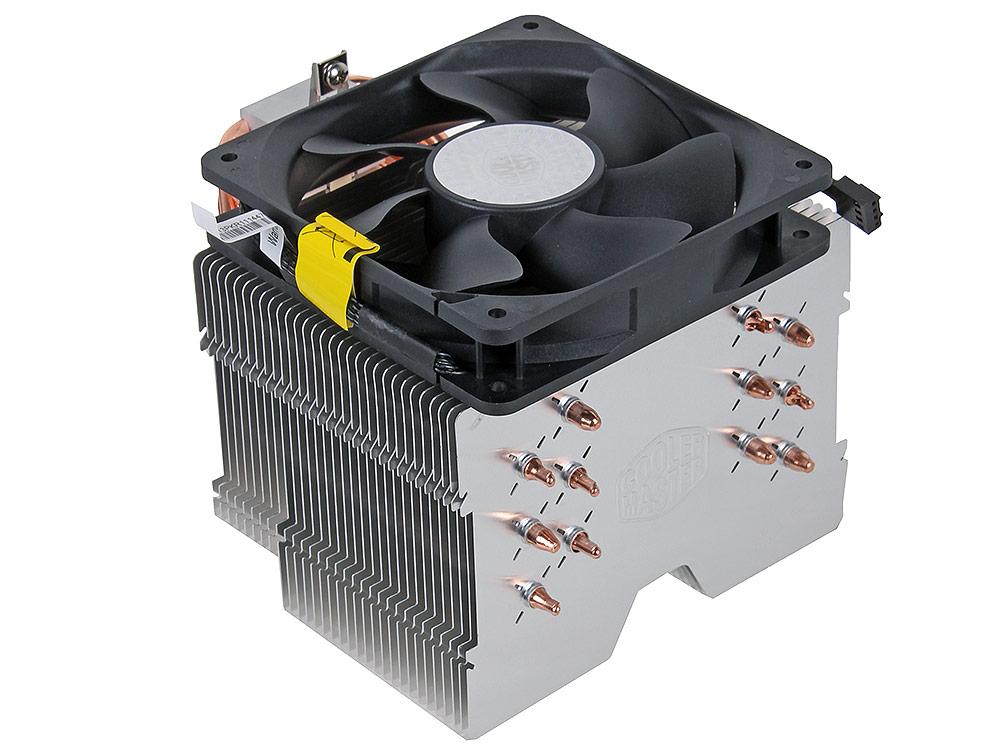 Кулер Cooler Master Hyper 612 ver. 2 (RR-H6V2-13PK-R1) 2011/1366/1156/1155/1150/775/FM2+/FM2/FM1/AM3+/AM3/AM2+/AM2 fan 12 cm, 800-1300 RPM, PWM, 43 CF cooler zalman cnps9x optima 775 1156 1155 1150 1151 am4 am2 am2 am3 am3 fm1 fm2 120мм