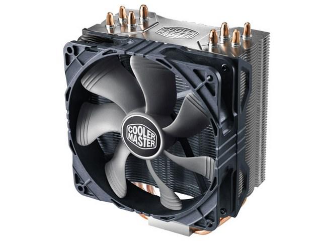 лучшая цена Кулер Cooler Master Hyper 212X (RR-212X-17PK-R1) 2011-3/2011/1366/1156/1155/1151/1150/ 775/FM2+/FM2/FM1/AM3+/AM3/AM2+/AM2 fan 12 cm, 600-2000 RPM, 82.