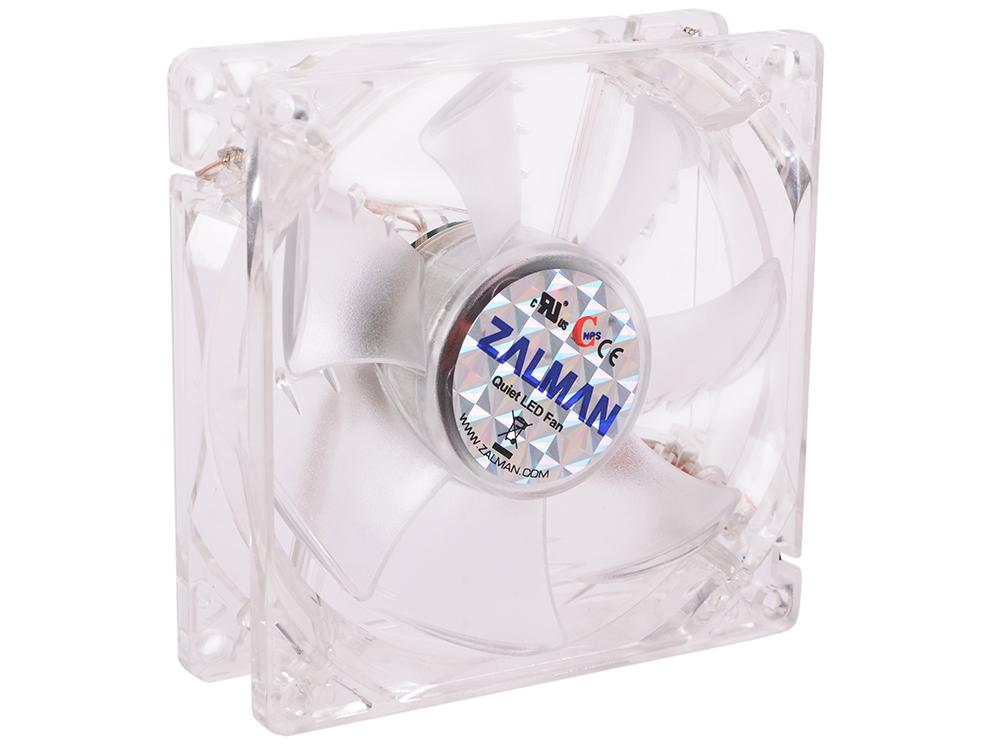 цена на Вентилятор Zalman ZM-F1 LED (SF) 80 мм, 2000 об/мин, 3-pin