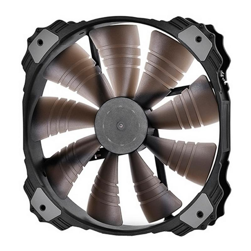 Вентилятор Deepcool XFAN 200BL 200x200x32 3pin 26.3dB 700rpm 300g синий LED цена и фото
