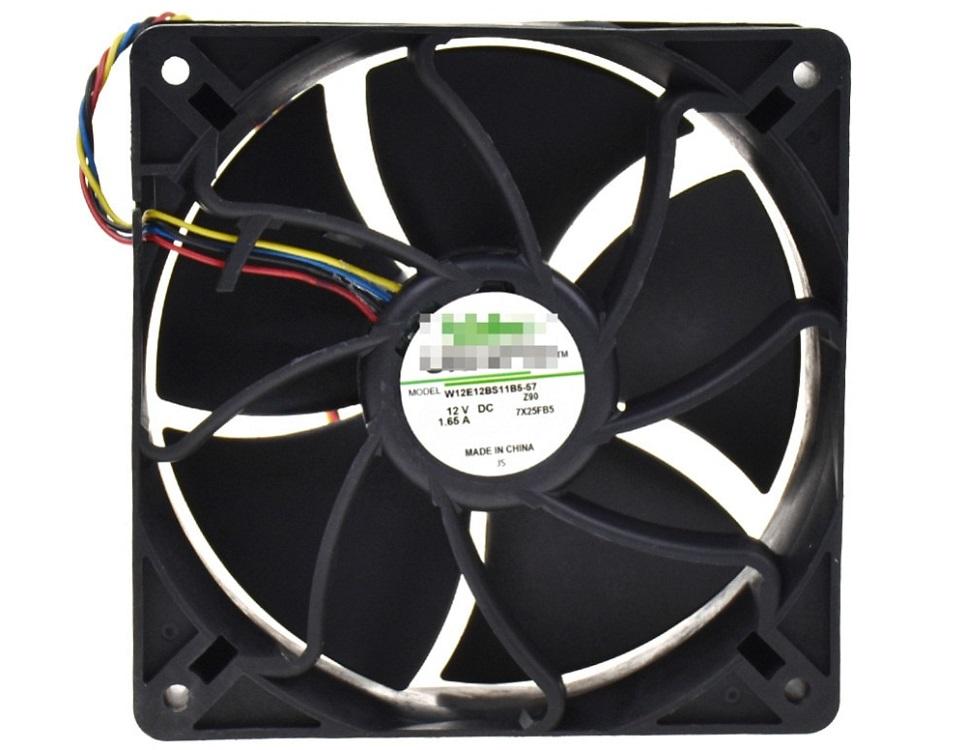Вентилятор NIDEC 12E12BS11B5-57 1.65A,12V, 19.8W, 6000-6500rpm, 180CFM, 120x120x38mm