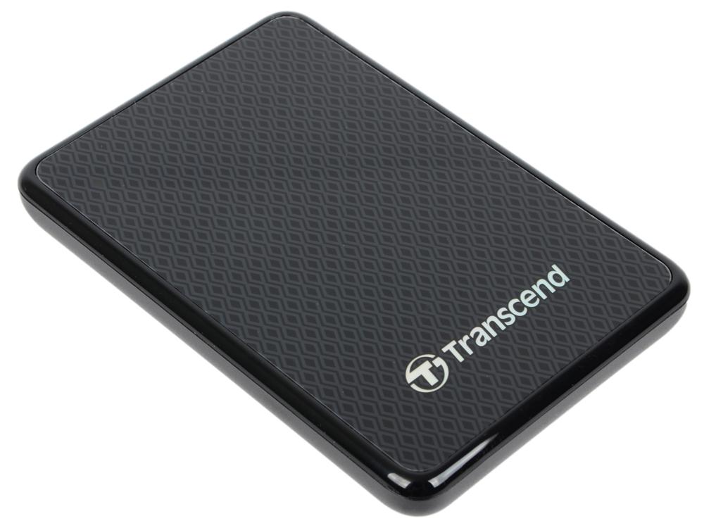 Внешний жесткий диск Transcend ESD400 128Gb Black (TS128GESD400K) жесткий диск 240gb transcend ts240gssd220s