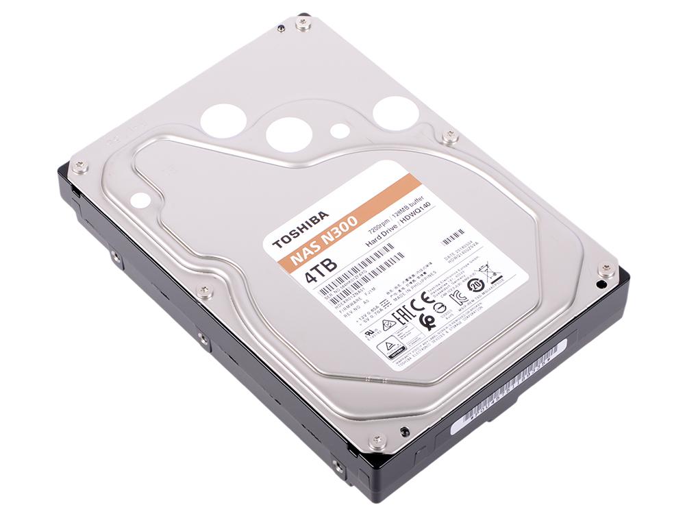 цена на Жесткий диск Toshiba N300 HDWQ140UZSVA 4 TB SATA III/3.5