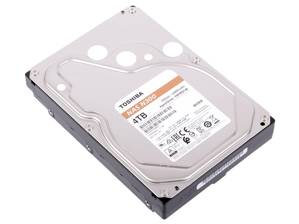 все цены на Жесткий диск Toshiba N300 HDWQ140UZSVA 4 TB SATA III/3.5