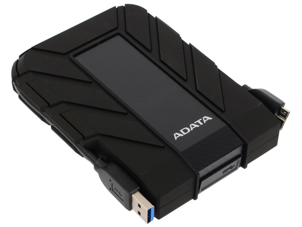 Внешний жесткий диск 2Tb Adata HD710P AHD710P-2TU31-CBK черный (2.5 USB3.0) внешний жесткий диск 2 5 usb3 0 2tb adata hd710p ahd710p 2tu31 cbk черный