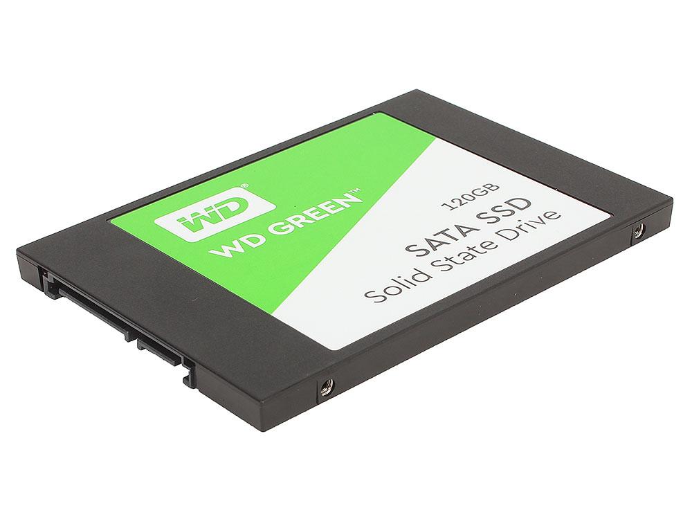 """WDS120G2G0A SSD накопитель Western Digital Green WDS120G2G0A 120GB SATA III/2.5"""" WDS120G2G0A"""
