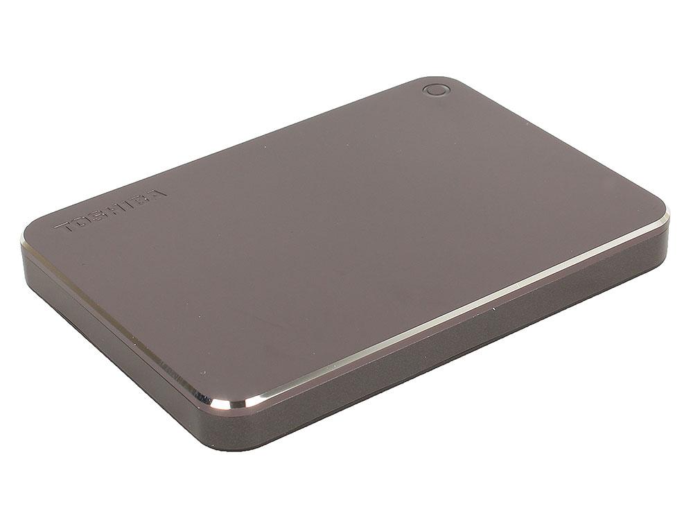 Внешний жесткий диск 2Tb Toshiba Canvio Premium серый (HDTW220EB3AA) HDTW220EB3AA
