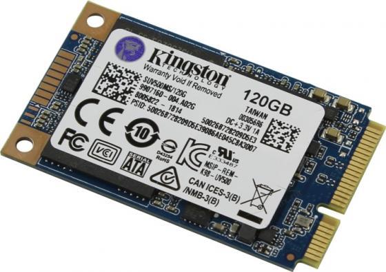 SSD накопитель Kingston UV500 SUV500MS/120G 120Gb mSATA suv500ms 120g