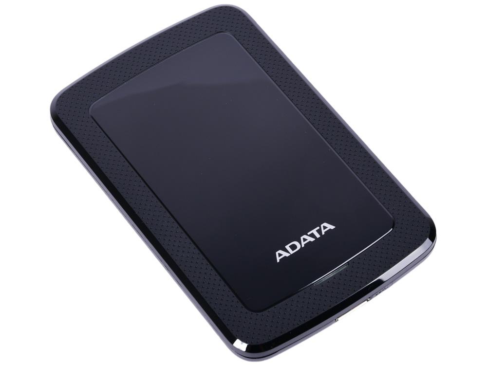 Внешний жесткий диск 2Tb Adata USB 3.0 AHV300-2TU31-CBK HV300 2.5 черный внешний жесткий диск 2 5 usb3 0 2tb adata hd710p ahd710p 2tu31 cbk черный