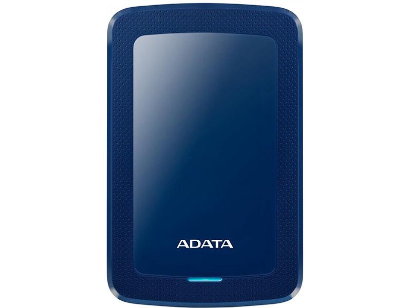 Внешний жесткий диск 4Tb Adata USB 3.0 AHV300-4TU31-CBL HV300 2.5