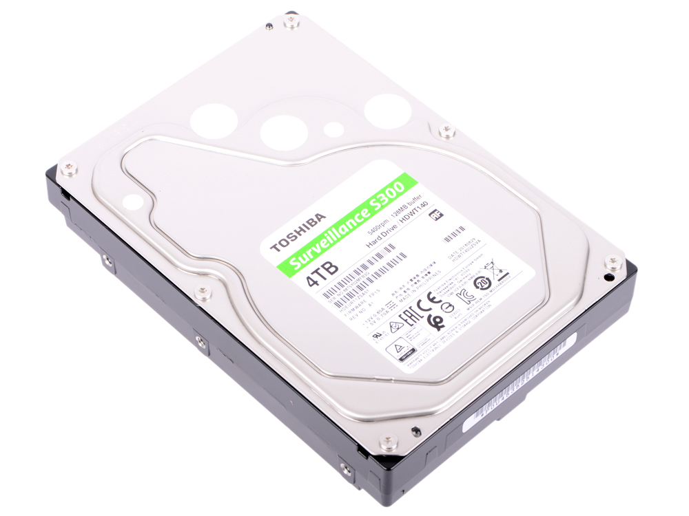 все цены на Жесткий диск Toshiba S300 HDWT140UZSVA 4Tb SATA III/3.5