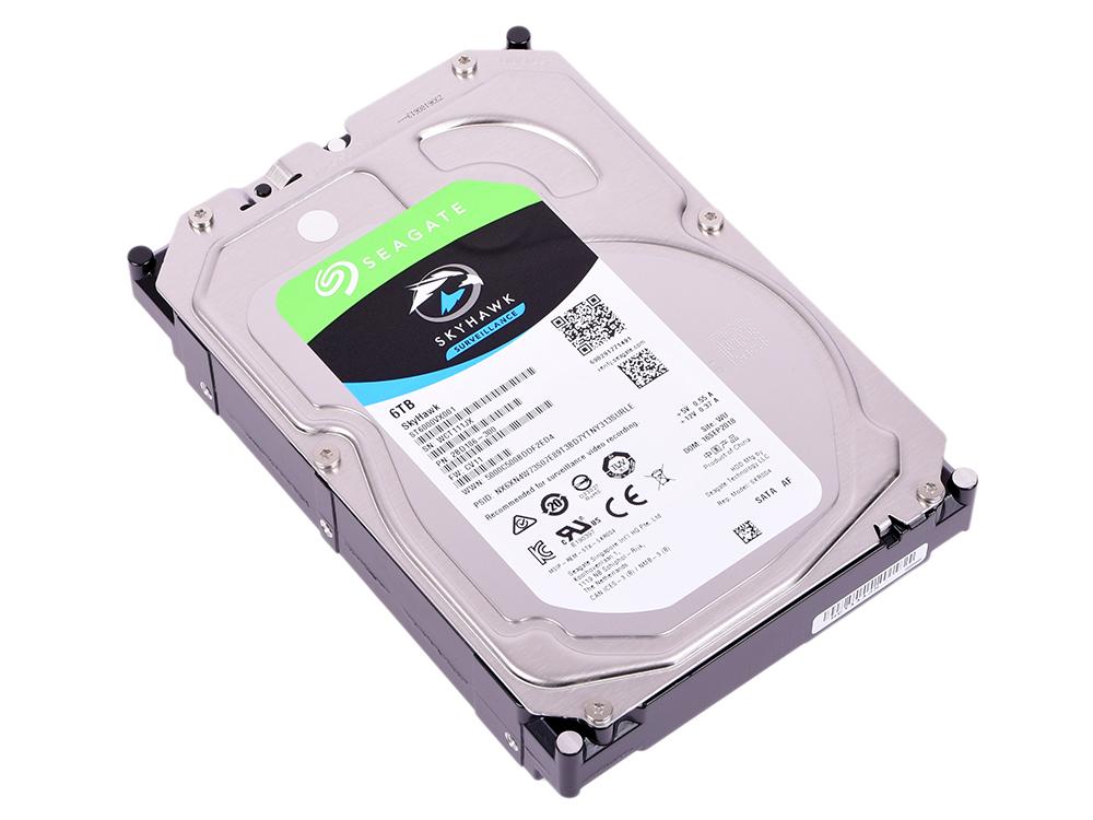 Жесткий диск 6Tb Seagate ST6000VX001 Skyhawk SATA III (5400rpm) 256Mb 3.5