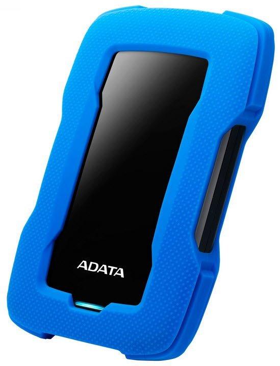 Внешний жесткий диск A-Data HD330 AHD330-1TU31-CBL 1Tb Blue USB 3.1 цена и фото