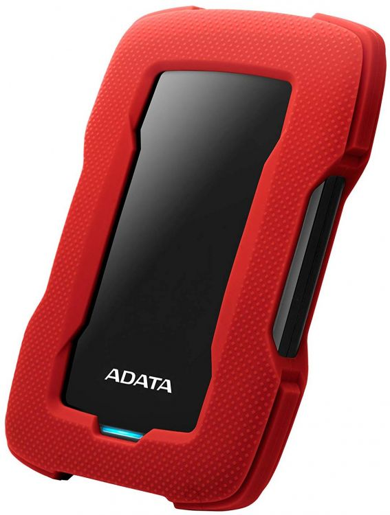 Внешний жесткий диск A-Data HD330 AHD330-2TU31-CRD 2Tb USB 3.1 жесткий диск a data usb 3 0 4tb ahd330 4tu31 crd hd330 dashdrive durable 2 5 красный