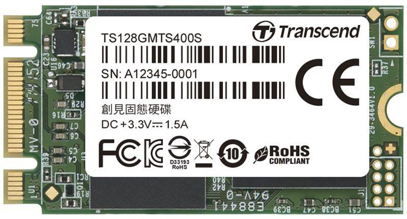 SSD накопитель Transcend MTS400S TS128GMTS400S 128Gb M.2 все цены