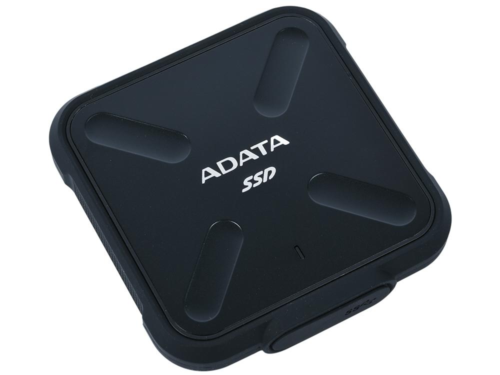 Внешний жесткий диск ADATA SD700 ASD700-1TU31-CBK 1Tb USB 3.1
