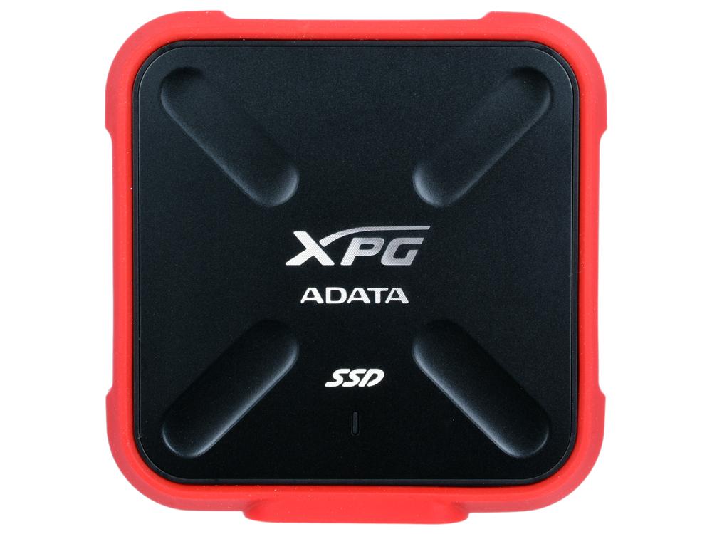Внешний жесткий диск SSD Adata SD700 ASD700-1TU3-CRD 1TB USB3.1 внешний ssd накопитель 1 8 256gb a data sd700 asd700 256gu3 cyl ssd usb 3 1 type c желтый