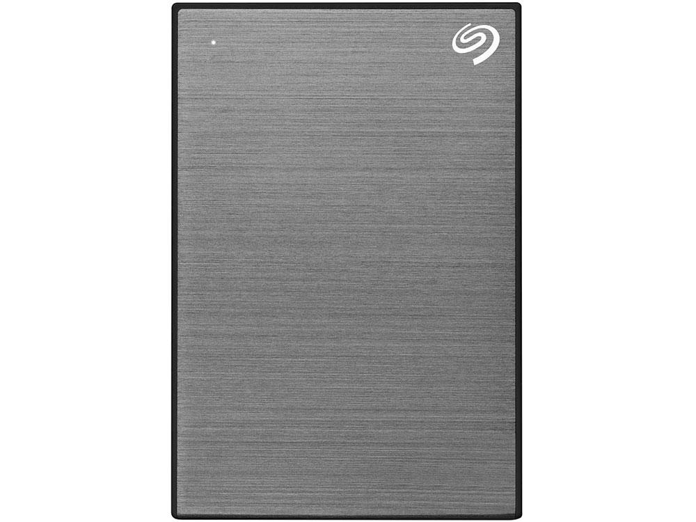 Внешний жесткий диск 1TB SEAGATE Backup Plus Slim USB3.1 GRAY STHN1000405 внешний жесткий диск seagate stea1000400 1tb stea1000400