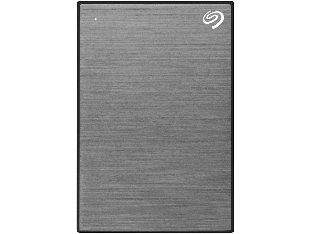 Внешний жесткий диск 1TB SEAGATE Backup Plus Slim USB3.1 GRAY STHN1000405 внешний жесткий диск 2 5 2000gb seagate steh2000201 usb3 0 backup plus ultra slim золотой