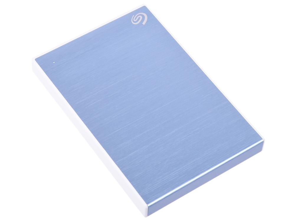 Внешний жесткий диск 2TB SEAGATE Backup Plus Slim USB3.1 LIGHT BLUE STHN2000402 цена и фото