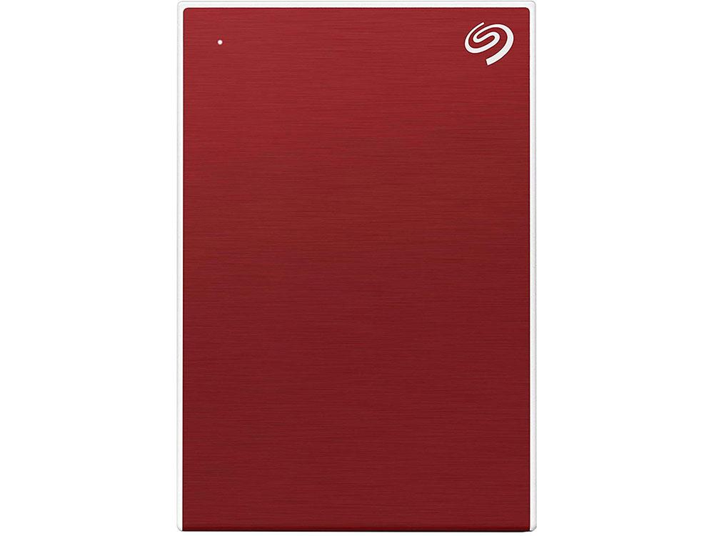 Внешний жесткий диск 2TB SEAGATE Backup Plus Slim USB3.1 RED STHN2000403 внешний жесткий диск 2 5 2000gb seagate steh2000201 usb3 0 backup plus ultra slim золотой