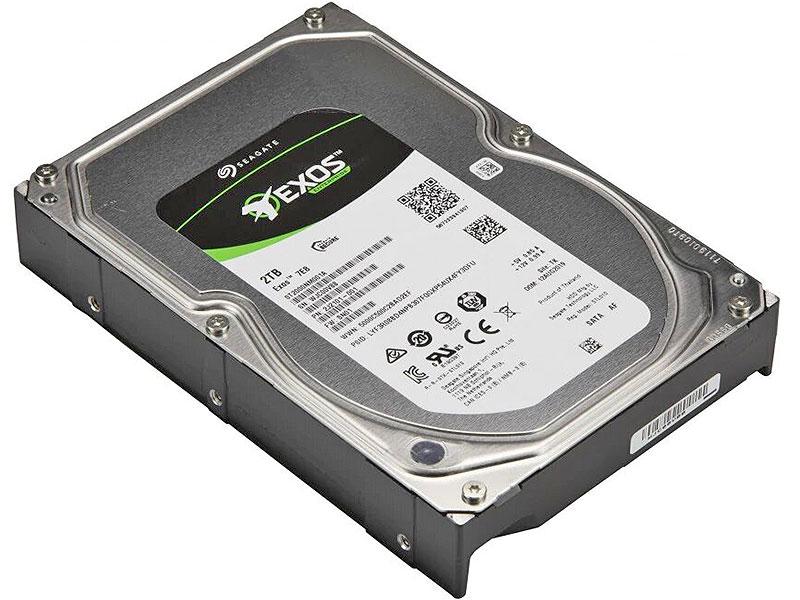 Жесткий диск Seagate Exos 7E8 (ST2000NM001A) 2Tb SATA/3.5
