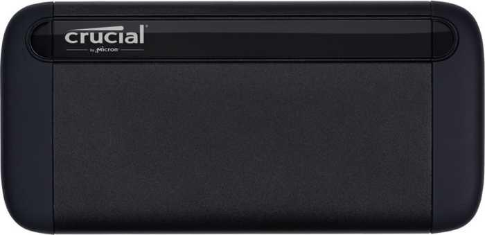 Внешний жесткий диск Crucial X8 CT1000X8SSD9 1Tb USB Type-C внешний жесткий диск transcend 2tb storejet 2 5 m3c usb type c и type a