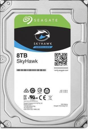 Жесткий диск Seagate Skyhawk ST8000VX004 8Tb SATA/3.5