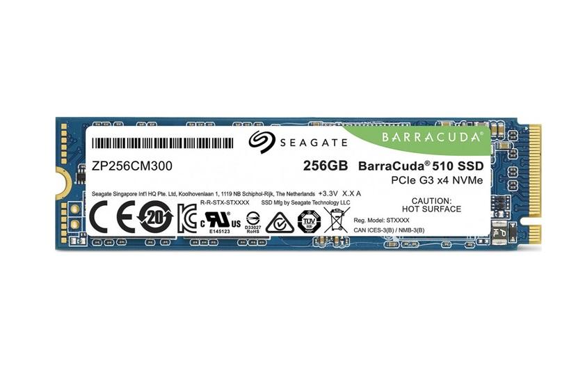 SSD накопитель Seagate BarraCuda 510 ZP256CM30041 256Gb PCI-E x4 твердотельный накопитель ssd pci e 4tb intel p4510 series read 3000mb s write 2900mb s ssdpe2kx040t801 959395
