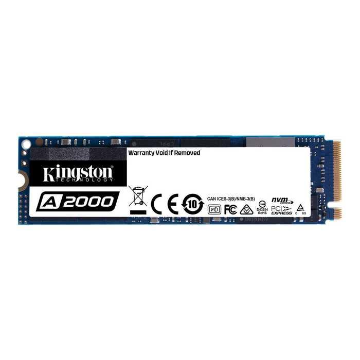 SSD накопитель Kingston A2000 (SA2000M8/250G) 250Gb PCI-E x4/M.2 derfriend 250g