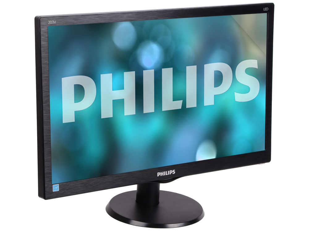 203V5LSB26 монитор philips 19 5 203v5lsb26 200cd 1600x900 d sub