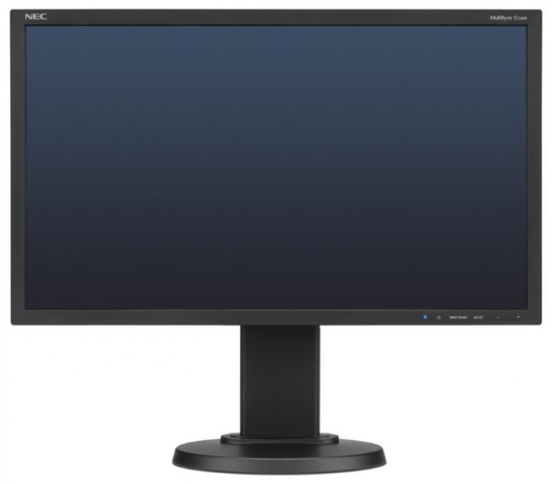 Монитор Nec E224Wi 22 Black 1920 x 1080 (16:9) / 75Hz / IPS / 6ms / VGA, DVI, DP монитор nec ea275uhd