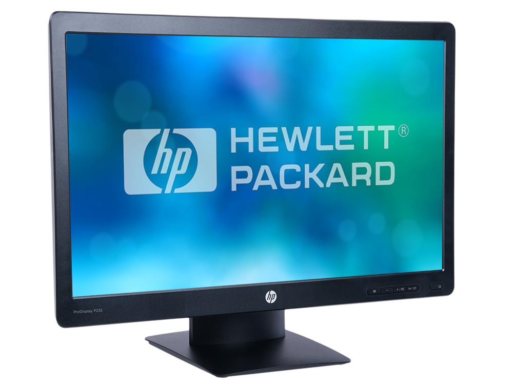 "Монитор HP ProDisplay P232 K7X31AA 23"" Black 1920x1080/TFT TN/5ms/VGA, DP, Headph.Out, VESA"