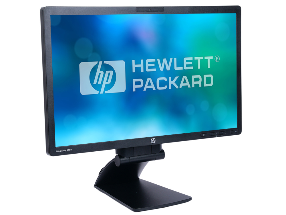 Монитор HP S231d 23 Black 1920x1080/IPS/60Hz/7ms/VGA (D-Sub), DP, USBhub монитор 24 aoc 24b1xh ips 1920x1080 7ms d sub hdmi