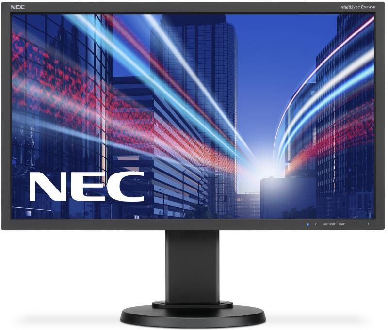 Монитор 23.8 NEC E243WMi черный AH-IPS 1920x1080 250 cd/m^2 5 ms VGA DVI DisplayPort Аудио монитор 22 asus vp228de черный tn 1920x1080 200 cd m^2 5 ms vga аудио