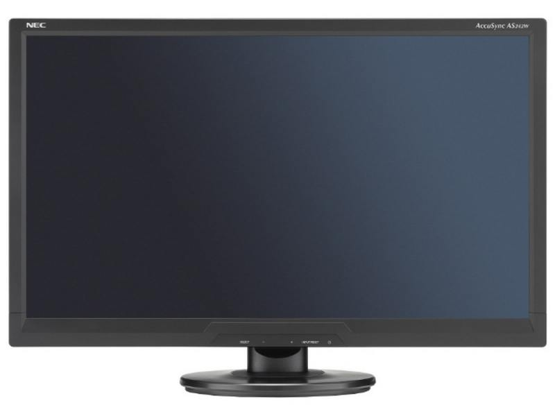 Монитор 24 NEC AS242W черный TFT-TN 1920x1080 250 cd/m^2 5 ms DVI VGA монитор 22 asus vp228de черный tn 1920x1080 200 cd m^2 5 ms vga аудио