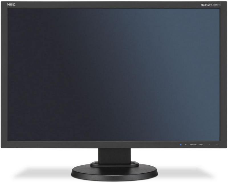 Монитор Nec E245WMi-BK 24 Black 1920 x 1080/PLS/6ms, VGA (D-Sub), DP, HDMI монитор nec e245wmi