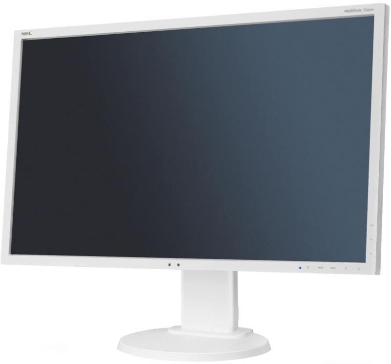Монитор 27 NEC EA273WMi белый AH-IPS 1920x1080 250 cd/m^2 6 ms DVI HDMI DisplayPort VGA Аудио USB монитор 23 acer t232hlabmjjcz черный ips 1920x1080 300 cd m^2 5 ms hdmi vga usb um vt2ee a07