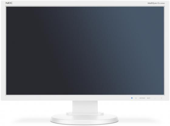 Монитор 23 NEC E233WMi белый TFT-TN 1920x1080 250 cd/m^2 6 ms DVI VGA Аудио DisplayPort монитор 22 asus vp228de черный tn 1920x1080 200 cd m^2 5 ms vga аудио