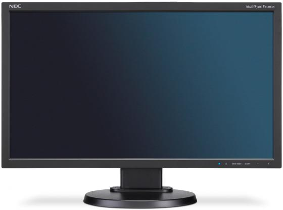 Монитор 23 NEC MultiSync E233WMi черный IPS 1920x1080 250 cd/m^2 6 ms DVI-D VGA DisplayPort монитор 20 philips 200v4qsbr черный mva 1920x1080 250 cd m^2 8 ms vga dvi