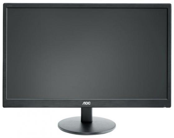 Фото - МОНИТОР 27 AOC E2770SH Black (LED, 1920x1080, 1 ms, 170°/160°, 300 cd/m, 20M:1, +DVI, +HDMI, +MM) монитор 25 aoc agon ag251fg black red led 1920x10800 240hz 1 ms 170° 160° 400 cd m 50m 1 hdmi displayport